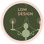 Logo for lomdesignshow.hu